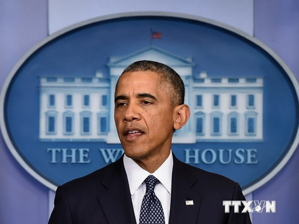 Tổng thống Barack Obama. (Nguồn: AFP/TTXVN)
