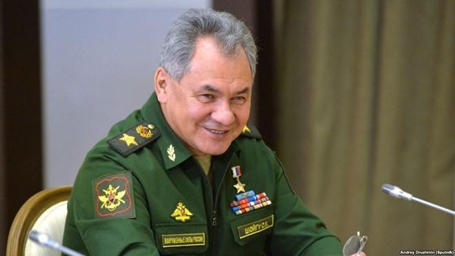 Bộ trưởng Quốc phòng Nga Sergei Shoigu. (Nguồn: Sputnik)