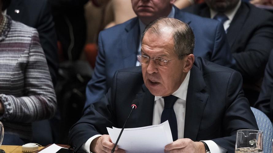 Ngoại trưởng Nga Sergey Lavrov. Ảnh: AFP